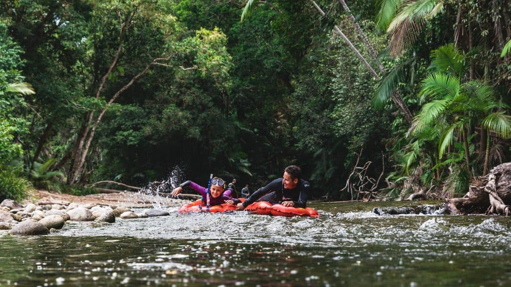 River Drift Snorkelling - Back Country Bliss