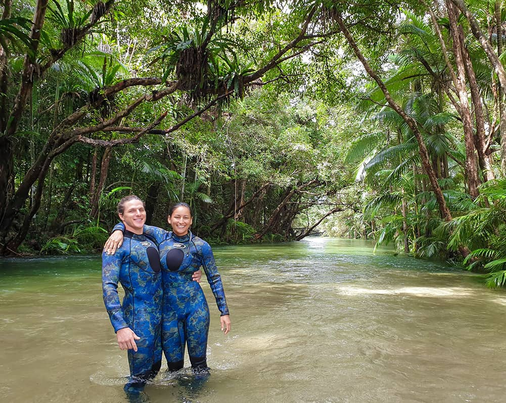 Real life Avatar in the daintree rainforest