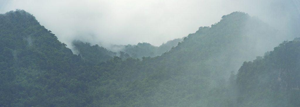 Daintree Rainforest clouds