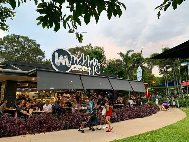 Kid friendly ideas Muddys Cafe and playground
